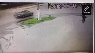 Появилось видео невероятного ДТП в Жуковке, где погиб водитель