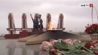Память о павших воинах в Великой Отечественной войне навсегда в наших сердцах