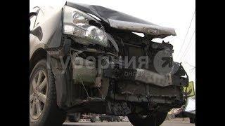 Разворот в неположенном месте стал причиной аварии с пострадавшим в Хабаровске. MestoproTV