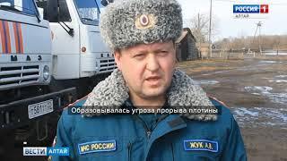 В ликвидации последствий подтоплений в Алтайском крае задействовано более 1500 человек