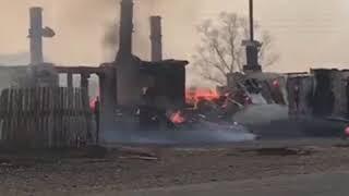 Село Зеркальное приходит в себя после сильного пожара