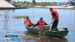 Спасатели Марий Эл очистили берега Малой Кокшаги от мусора - Вести Марий Эл