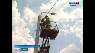 В Красногвардейском районе полным ходом идут ремонтно строительные работы на дорогах