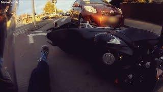 Подборка мото дтп. Аварии мотоциклистов.