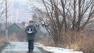 За ледовой обстановкой на реках Саранска МЧС следит с беспилотников