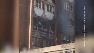 Пожар на Северном: в ростовской многоэтажке сгорела квартира