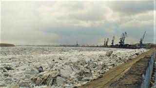 Лёд пошёл на Оби в районе Нижневартовска