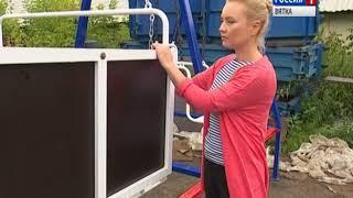 Кировчане спроектировали качели для детей-инвалидов (ГТРК Вятка)