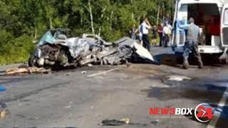 Жуткая авария на трассе Хабаровск - Владивосток. Есть погибшие и пострадавшие