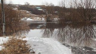 Паводок в Ромодановском районе отрезал от большой земли несколько жилых домов