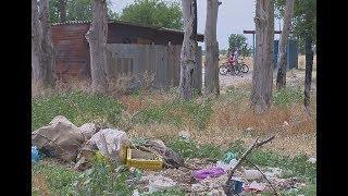 Поселок Большевик утопает в мусоре