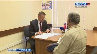 Депутат Волгоградской областной Думы Михаил Струк провел прием граждан