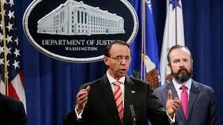 В США предъявлены заочные обвинения 12 гражданам РФ