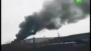 В МЧС рассказали о возгорании на свалке