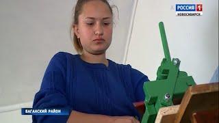 Старшеклассницы из села Андреевка приняли участие в Международном состязании юных кровельщиков