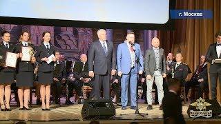 Награждение победителей и лауреатов XVII международного конкурса МВД России «Щит и перо»