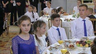В Кремле состоялась церемония награждения многодетных родителей орденом «Родительская слава»