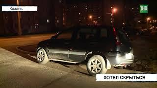 Задержали пьяного водителя, но он стал утверждать, что за рулём не сидел - ТНВ