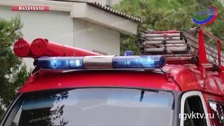 В социально-реабилитационном центре прошли учения пожарных