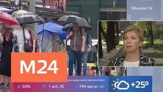 На Москву обрушились грозы и шквалистый ветер - Москва 24