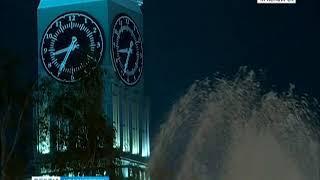 В Красноярске начинают работу главные фонтаны города