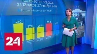 """""""Погода 24"""": Москву замело - Россия 24"""