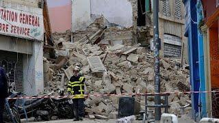 Обрушение в Марселе: есть погибшие