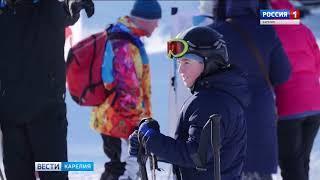 Объявлены победители Первенства Карелии по горнолыжному спорту