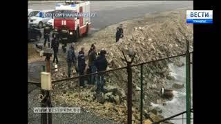 Во Владивостоке на территории одного из портов обнаружена торпеда