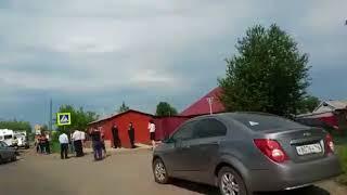 Серьезное ДТП с полицейской машиной произошло в Кузбассе
