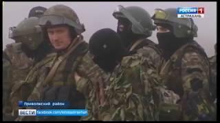 Тактические учения в Астраханской области