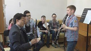 UTV. В Уфе участники Академии фонда Владимира Спивакова нарисуют оркестр