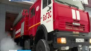 На Богучанской ГЭС прошли очередные комплексные учения