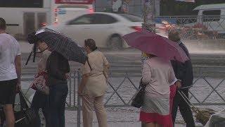 В Башкирии ожидается крупный град и шквалистый ветер