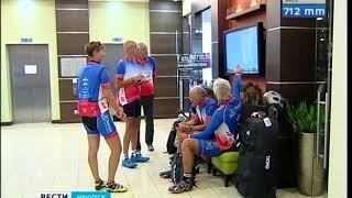 Участники международного велопробега Санкт Петербург   Владивосток приехали в Иркутск