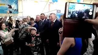 Аукцион на ярмарке в Комсомольске