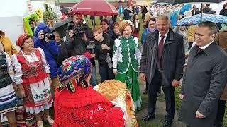 Александра Моора встречают на фестивале Мост Дружбы в Исетском