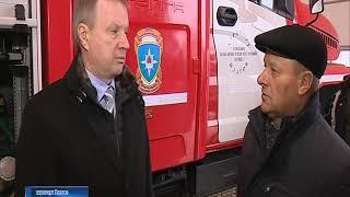 В аэропорту Платов проходят учения пожарно-спасательного отряда