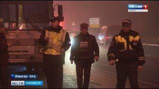 После крупного ДТП в Чувашии, ГИБДД Марий Эл проводит масштабную проверку перевозчиков