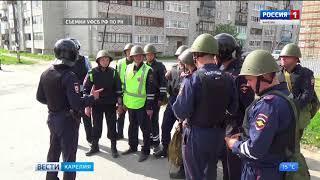 Антитеррористические учения прошли на Беломорско-балтийском канале