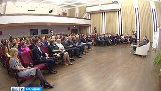 Сергей Носов встретился с молодыми талантами Колымы