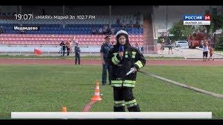 «Успеваем доезжать в любое время года» – в Марий Эл прошли соревнования добровольных пожарных