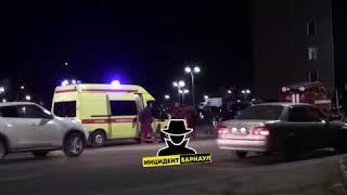 В Железнодорожном районе произошло ДТП с опрокидыванием автомобиля (Инцидент Барнаул)