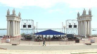 Центральную набережную Волгограда готовят к Фестивалю болельщиков ЧМ-2018