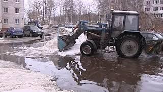 Корреспонденты «Вестей» оценили последствия потепления в Ярославле