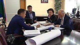 Губернатору Югры показали будущий индустриальный парк