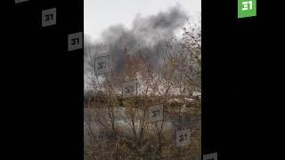 На АМЗ горит бензовоз 1