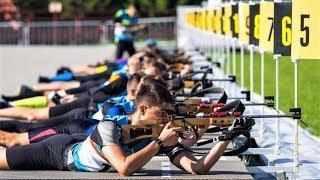 В Ханты-Мансийске прошли соревнования по летнему биатлону
