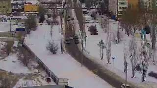 ДТП (авария г. Волжский) ул. 40 лет Победы 48  школа № 37 02-03-2018 13-42