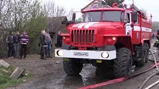 От пала сухой травы загорелся пригород Хабаровск